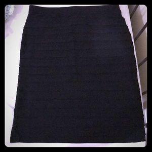 Roz&Ali plus size shutter pleat pencil skirt